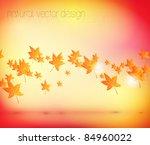 autumn leaves   seasonal vector ...   Shutterstock .eps vector #84960022