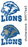 lions mascot. perfect as any...   Shutterstock .eps vector #84977665