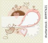 scrapbook elements | Shutterstock .eps vector #84997621