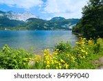 Beautiful Summer Alpine  Lake...