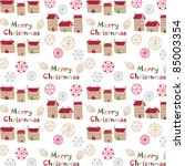 christmas seamless pattern   Shutterstock .eps vector #85003354