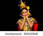thai classical dance | Shutterstock . vector #85010968
