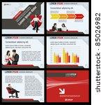 business template. vector... | Shutterstock .eps vector #85026982