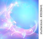 abstract shiny blue vector... | Shutterstock .eps vector #85028641