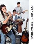 rock band | Shutterstock . vector #85059127