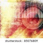 abstract grunge music...   Shutterstock . vector #85076809