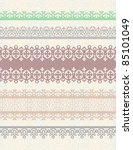 set of vintage borders. could... | Shutterstock .eps vector #85101049