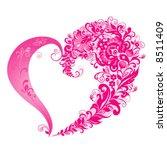frame heart | Shutterstock .eps vector #8511409