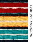 Knit Woolen Texture. Fabric...