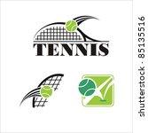 tennis symbol | Shutterstock .eps vector #85135516