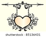Wrought  Iron Signboard In...