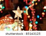 Christmas Lights Background....