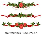 christmas decoration | Shutterstock .eps vector #85169347