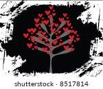 vector valentine hearts | Shutterstock .eps vector #8517814