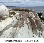 Rocky Coastline Of Atlantic...