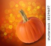 pumkin boke | Shutterstock .eps vector #85194697