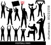 football fans | Shutterstock .eps vector #85231558