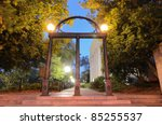 Historic Steel Archway On The...