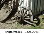 Broken And Discarded Wagon...