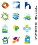 different computer icons | Shutterstock .eps vector #85292662