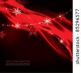contemporary christmas...   Shutterstock .eps vector #85296577