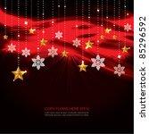 contemporary christmas... | Shutterstock .eps vector #85296592