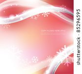 soft winter background with...   Shutterstock .eps vector #85296595
