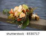 wedding bouquet with some water ...   Shutterstock . vector #8530717
