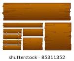 blank sign | Shutterstock .eps vector #85311352
