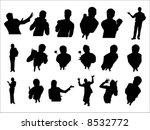 attitude | Shutterstock .eps vector #8532772