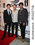 "Small photo of LOS ANGELES - SEPT 22: Gabriel Sunday, Michael Welch, Adrian Grenier arriving at the premiere of ""Archie's Final Project"" at The Laemmle Monica 4-Plex on September 22, 2011 in Santa Monica, CA"