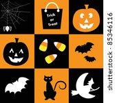 halloween | Shutterstock .eps vector #85346116
