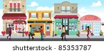 a vector illustration of people ... | Shutterstock .eps vector #85353787