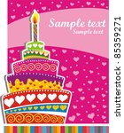 celebration background with... | Shutterstock .eps vector #85359271