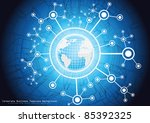 global business. vector. | Shutterstock .eps vector #85392325