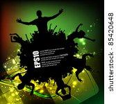 eps10 party people vector... | Shutterstock .eps vector #85420648