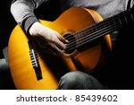 Acoustic Guitar Guitarist...