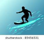 vector surfer | Shutterstock .eps vector #85456531