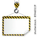 under construction frame  vector | Shutterstock .eps vector #85460119