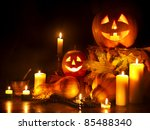 Halloween Pumpkin Lantern....