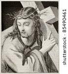 Jesus Carrying The Cross....