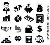 set of finance   banking icons  ... | Shutterstock .eps vector #85496878