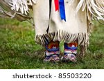 Native American Dancer At A...