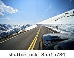 Riding Colorado Mountain Road....