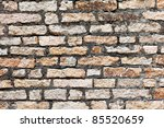 background of stone wall texture | Shutterstock . vector #85520659