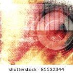 vector abstract grunge music... | Shutterstock .eps vector #85532344