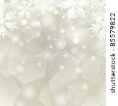 abstract christmas background...   Shutterstock .eps vector #85579822