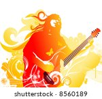 singer | Shutterstock .eps vector #8560189