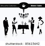 editable vector silhouette of a ...   Shutterstock .eps vector #85615642