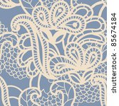 lace seamless pattern | Shutterstock .eps vector #85674184